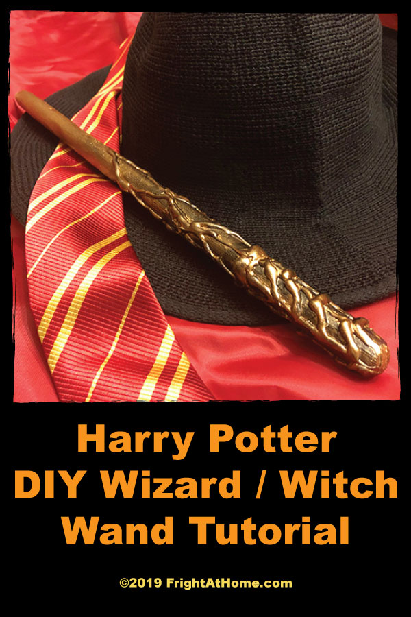 Harry Potter DIY Wizard / Witch Wand Tutorial